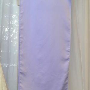 Lavender Satin Formal Cover up
